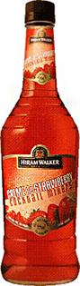 Hiram Walker Liqueur Creme de Strawberry 1.00l